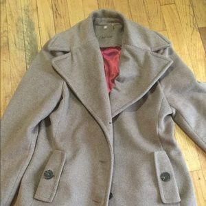By Calvin Klein jacket light brown like new
